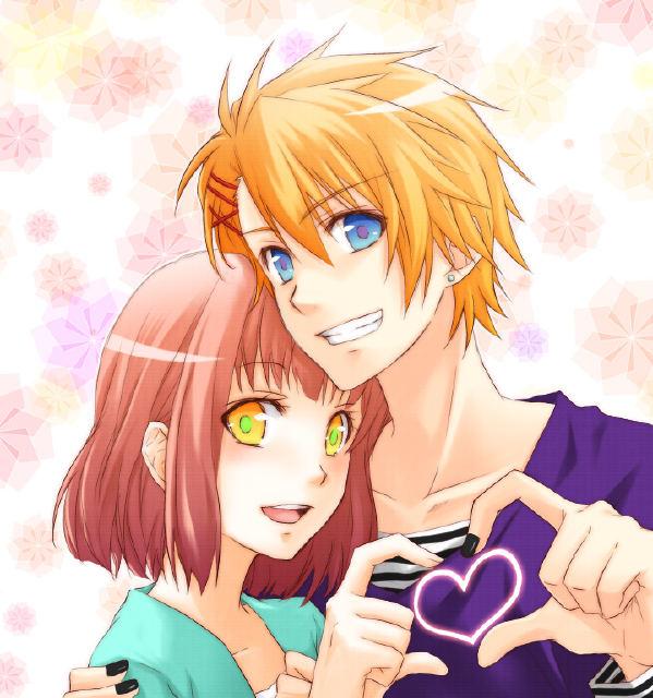anime guy with orange hair