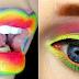 Rainbow make up