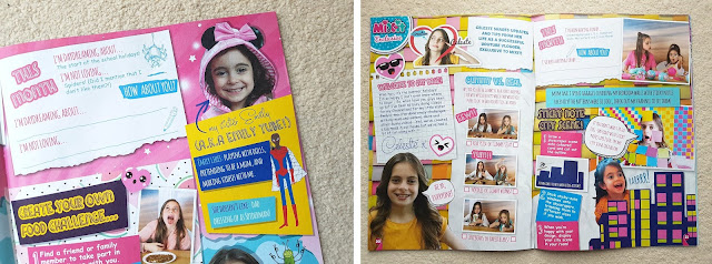 New girls magazine Mixit, Youtubers Creative Celeste and Emily Tube, unboxing and collectibles