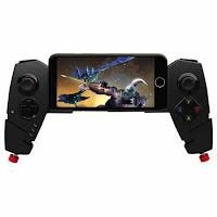 Gearbest Ipega Gamepad PG9055 Multifunctional Gamepad Red Spider Telescopic Bluetooth Mobile Tablet