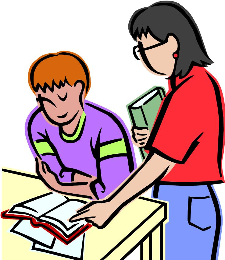 teacher and student clipart - photo #27