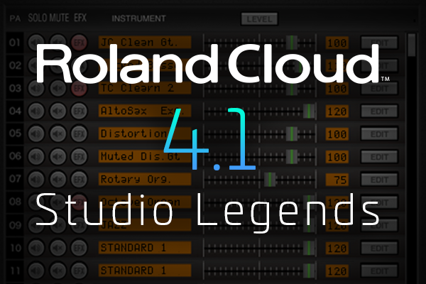Roland Cloud 4 1 Update released: Sound Canvas VA & R-MIX