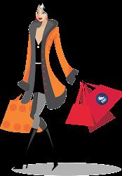 shopping vector file illustration pic transparent silhouette compras chainimage mulher clipart cliparts clothes bag icon freepngimg illustrations em disimpan dari