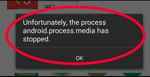 5 Cara Mengatasi �Sayangnya Proses Android.Process.Media Telah Berhenti� di Android