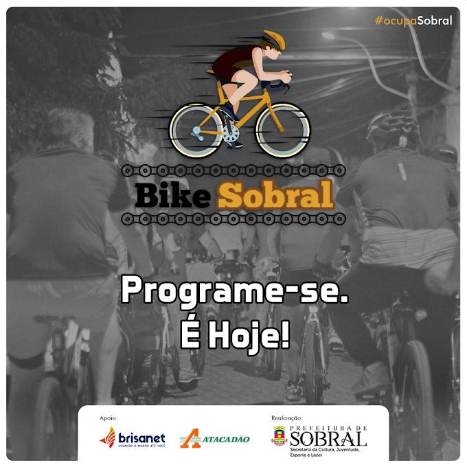 Secjel realiza mais uma edição do projeto Bike Sobral