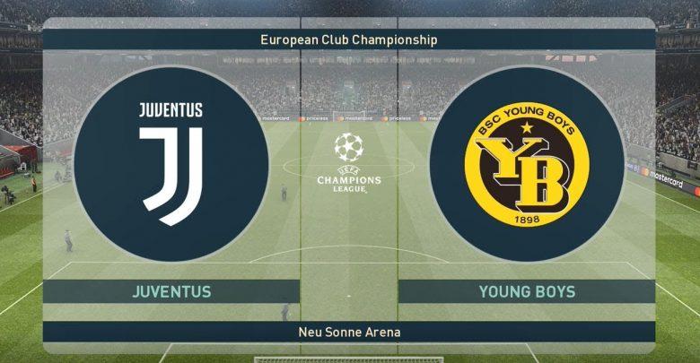 مباراة يوفنتوس يونج بويز بث مباشر اليوم 2-10-2018 في دوري ابطال أوروبا يلا شوت لايف