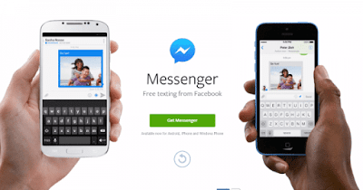 How to send a picture with Facebook Messenger
