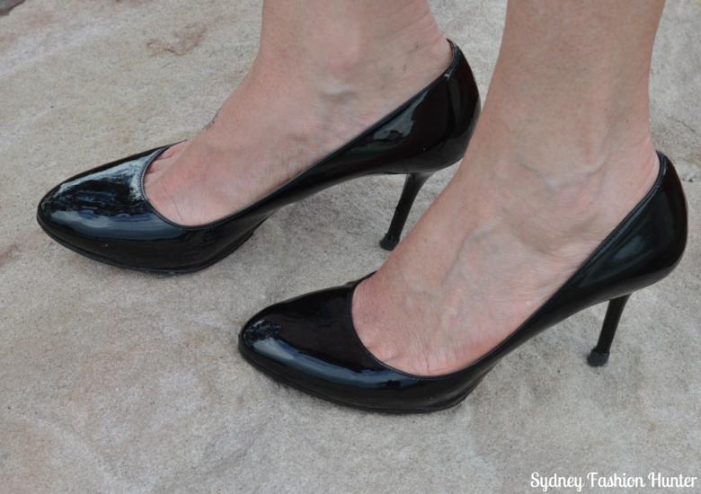 Sydney Fashion Hunter - Fresh Fashion Forum #4 - Black Patent Prada Pumps