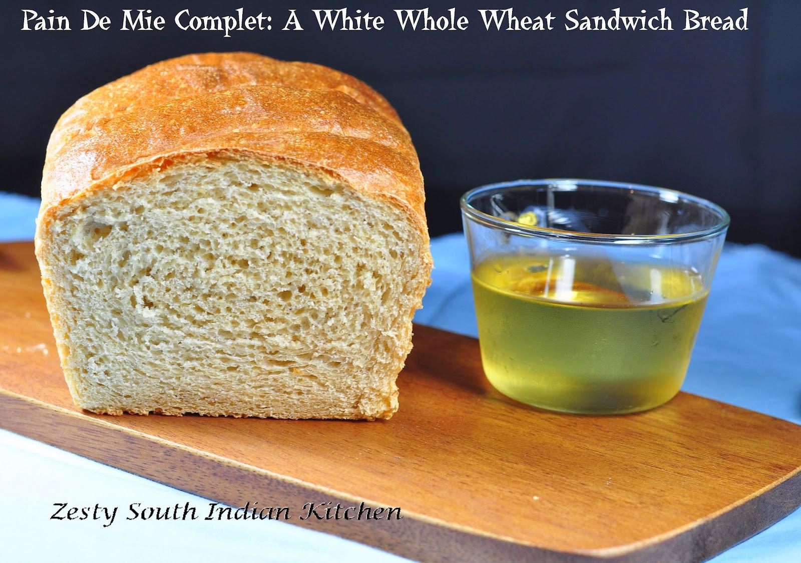pain de mie complet a white whole wheat sandwich bread. Black Bedroom Furniture Sets. Home Design Ideas
