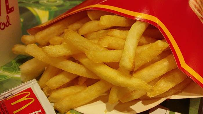 War of Tastes | The French fries at McDonald's