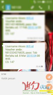 Wd-Kira, Cara Daftar Internet Unlimited Kuota Wifi.ID Telkom dengan Pulsa Telkomsel, Internet tanpa batasan kuota terbaru 2015, cara daftar internet super cepat, Download dengan kecepatan 100 MB per detik dengan Telkom terbaru 2015