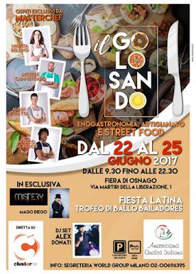 Il Golosando, artigianato e street food 22-23-24-25 giugno Osnago (LC)