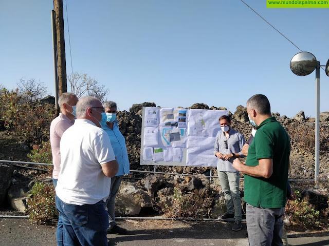 El Cabildo invertirá 223.000 euros en la ampliación de la red de aguas de Tazacorte