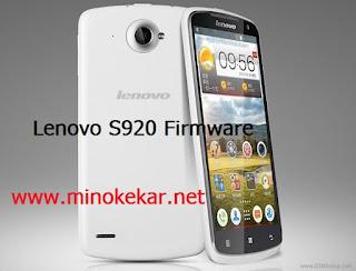 Lenovo S920 Firmware (www.minokekar.net)