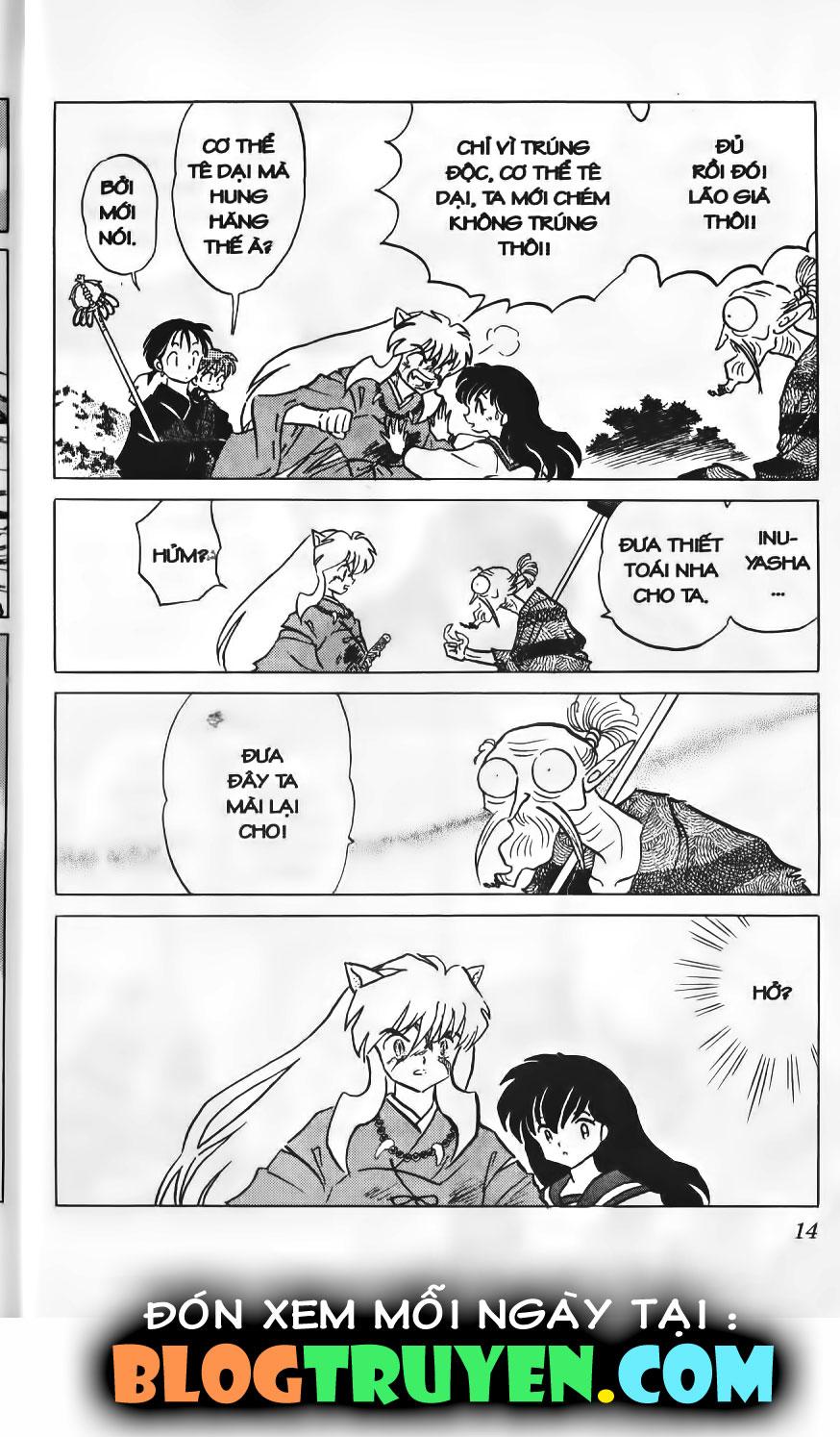 Inuyasha vol 14.1 trang 13