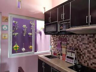 Warna Cat Rumah Minimalis Nuansa Ungu dan Putih