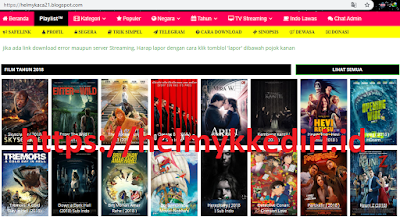 Download template premium LK21 movie gratis