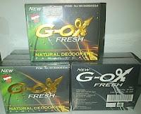 G- OX Fresh (Natural Deodorant)