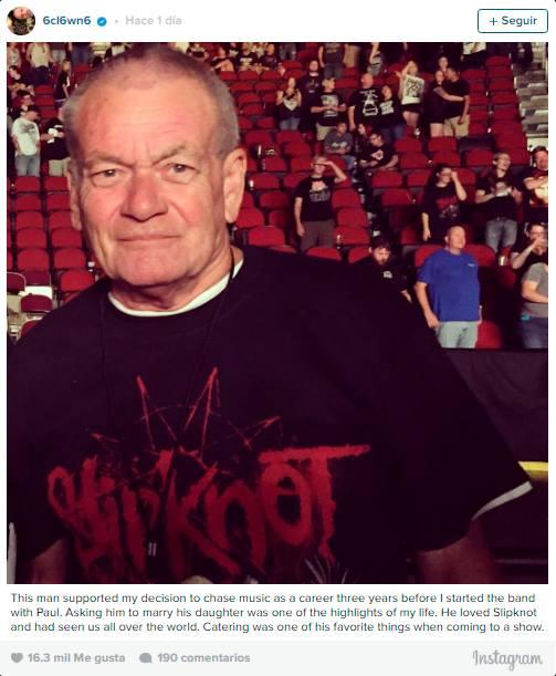 "Una ""emergencia familiar"" obliga a M Shawn Crahan a ausentarse en la gira de Slipknot por Australia"