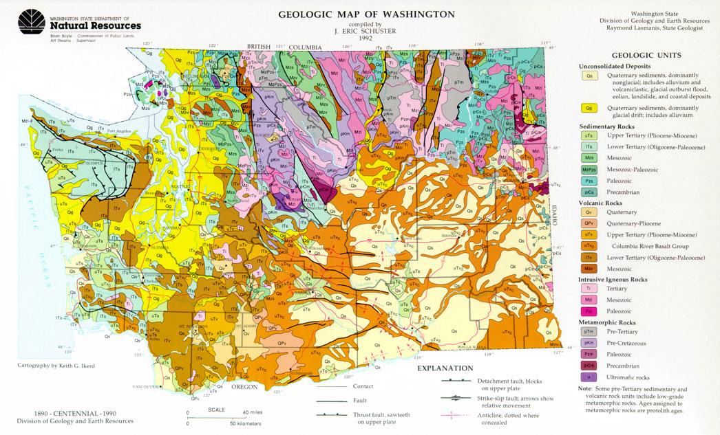 Washington State Natural Resources