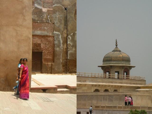inside Agra Fort by betitu
