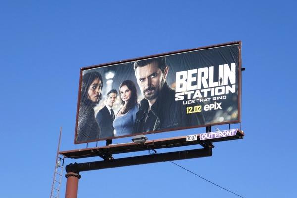 Berlin Station season 3 billboard