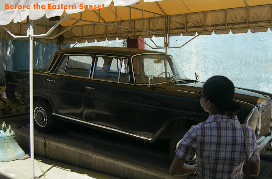 Cebu Cathedral Museum - popemobile