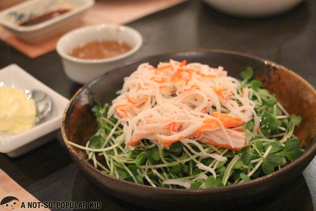 Kaiware Kani Salad of Sugi