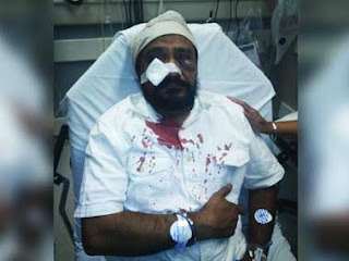 sikh man beaten badly