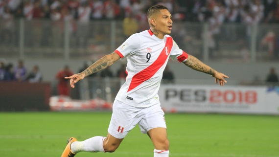 Jose Paolo Guerrero is Peru's all-time top scorer