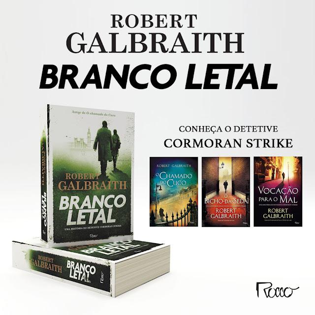 Lançamento da Editora Rocco: Branco letal