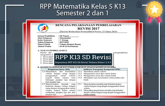 RPP Matematika Kelas 5
