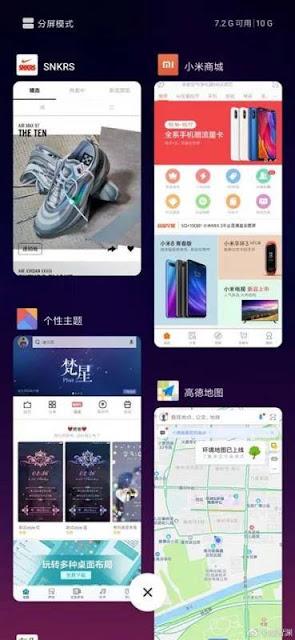 Xiaomi Mi MIX 3 có màn hình với độ phân giải 2,340 × 1,080 pixel