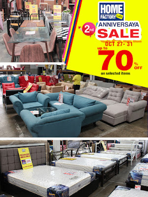 Manila Shopper Home Factory Outlets Hfo 2nd Anniversary Sale Oct 2017
