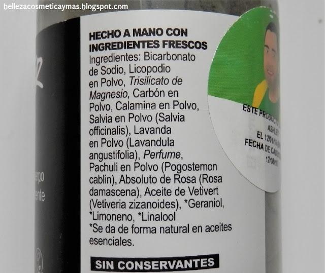 Ingredientes the Guv'ner Lush