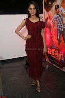Pragya Jaiswal in Stunnign Deep neck Designer Maroon Dress at Nakshatram music launch ~ CelebesNext Celebrities Galleries 011.JPG
