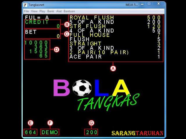 window awal meja permainan tn Panduan Cara Bermain TangkasNet