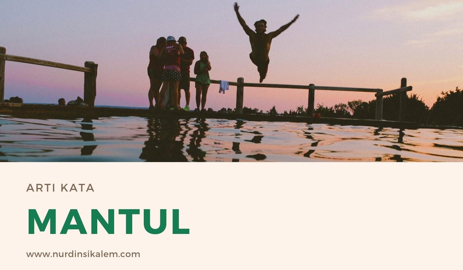 Istilah mantul bahasa gaul