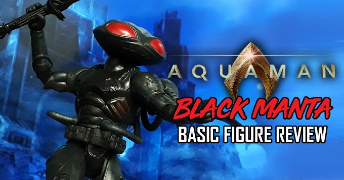 Aquaman Movie Black Manta Basic Figure Review