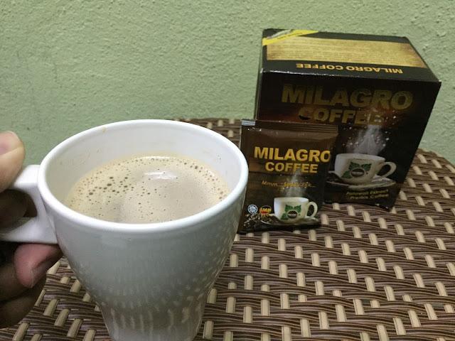minuman kesihatan, kopi, peminat tegar kopi, coffee, milagro coffee, milagro, penawar kencing manis