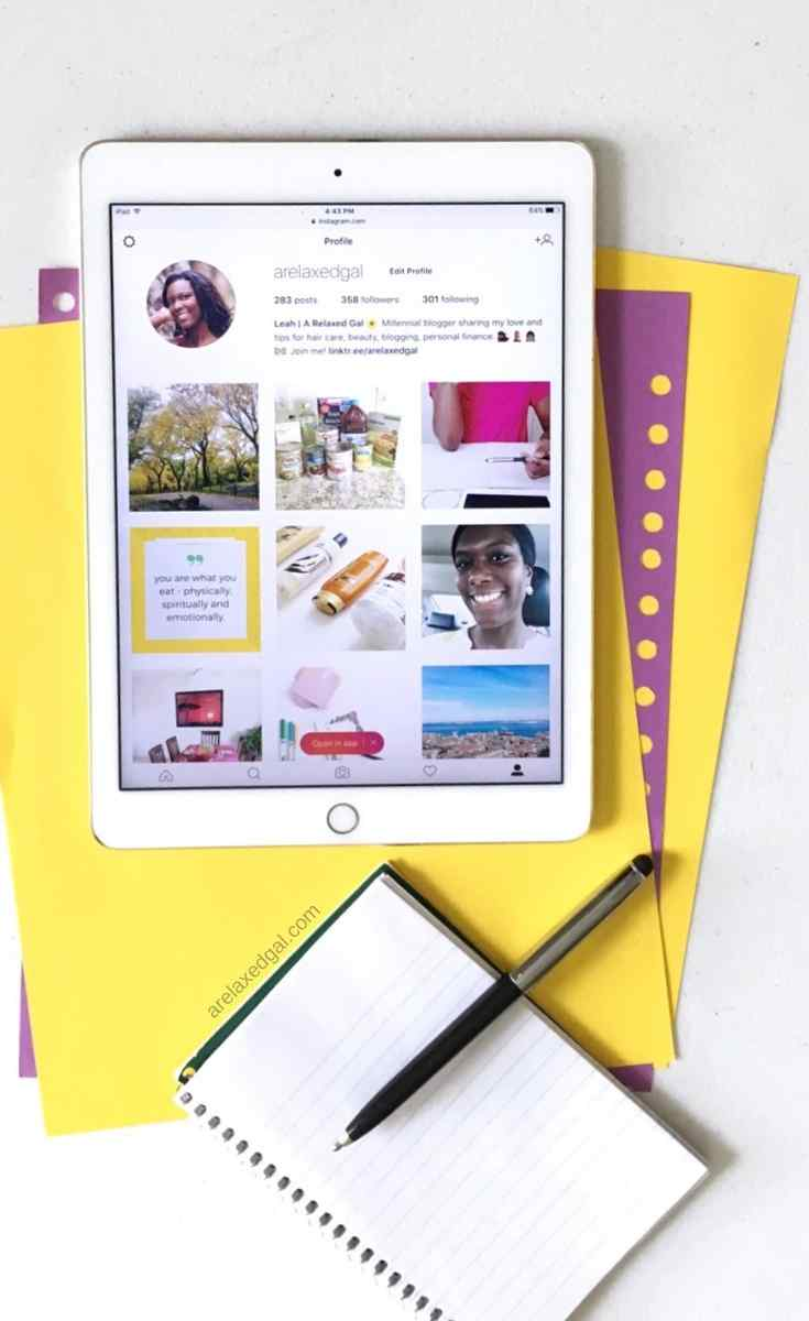 Why And How To Switch To An Instagram Business Profile   A Relaxed Gal