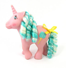 MLP Sugar Sweet Year Seven Candy Cane Ponies G1 Pony