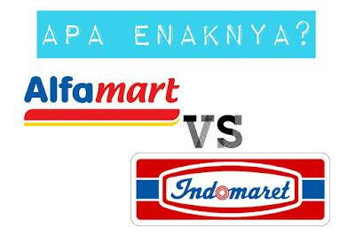 Apa Enaknya Belanja di Alfamart dan Indomaret?