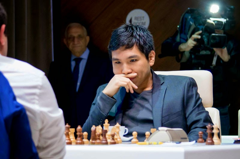 Wesley So au 2e Mémorial d'échecs Vugar Gashimov - Photo © Shamkir Chess Tournament 2015