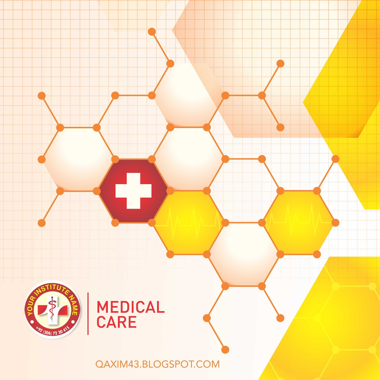 Medical Care Background With Professional Design Background In
