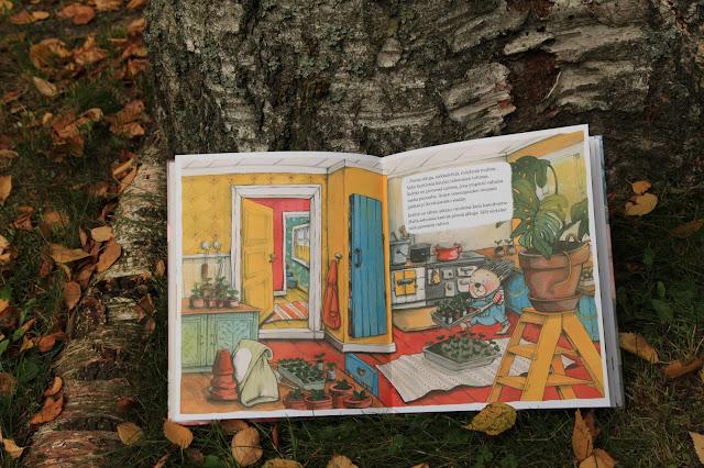 lastenkirja puutarhanhoito