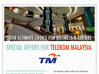 Special Promotion For TM Staff at Eastin Hotel, Petaling Jaya