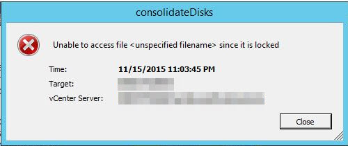 consolidate virtual machine disk files time What are the dangers of snapshots and how a virtual machine disk needs consolidation snapshot for a long time causing the helper delta file to grow.