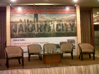 BAckdrop Seminar jakarta di Hotel Milenium