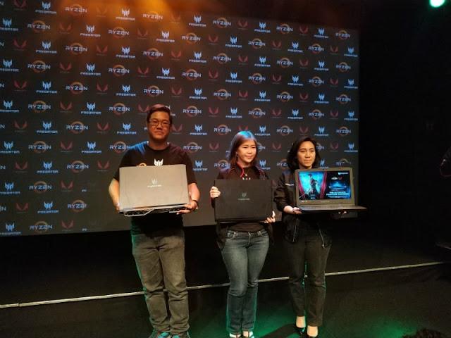 Acer Predator Helios 500 AMD Ryzen